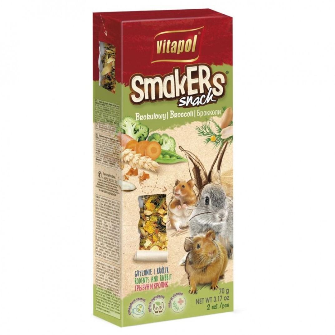 Vitapol smakers, stok voor knaagdieren broccoli 90 gram