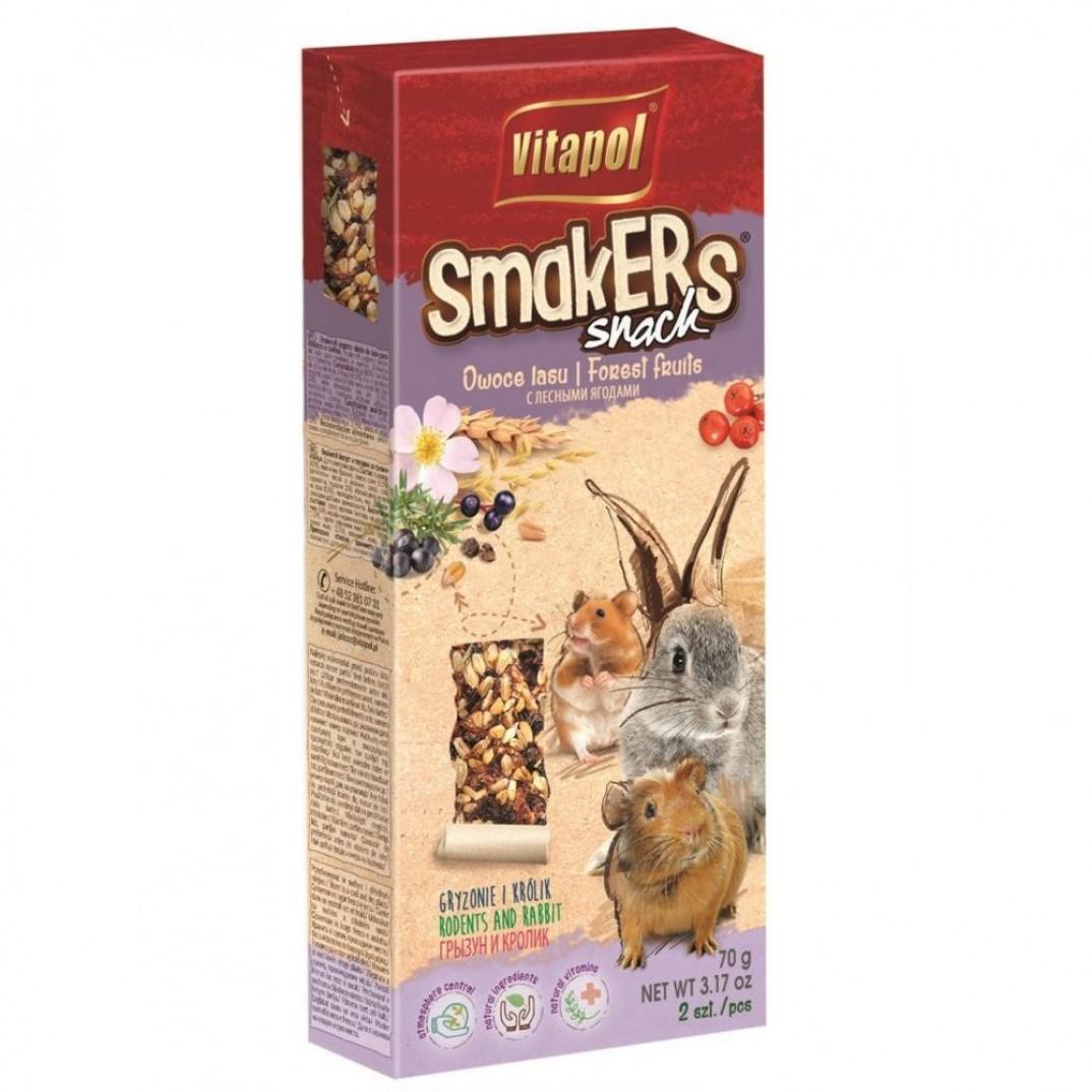 Vitapol smakers, stok voor knaagdieren bosvruchten 90 gram