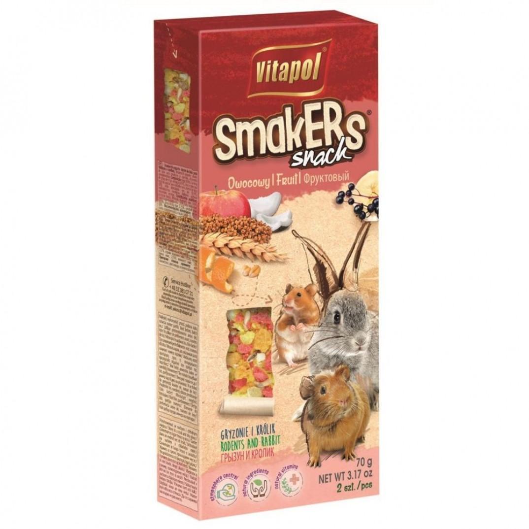 Vitapol smakers, stok voor knaagdieren fruit 90 gram