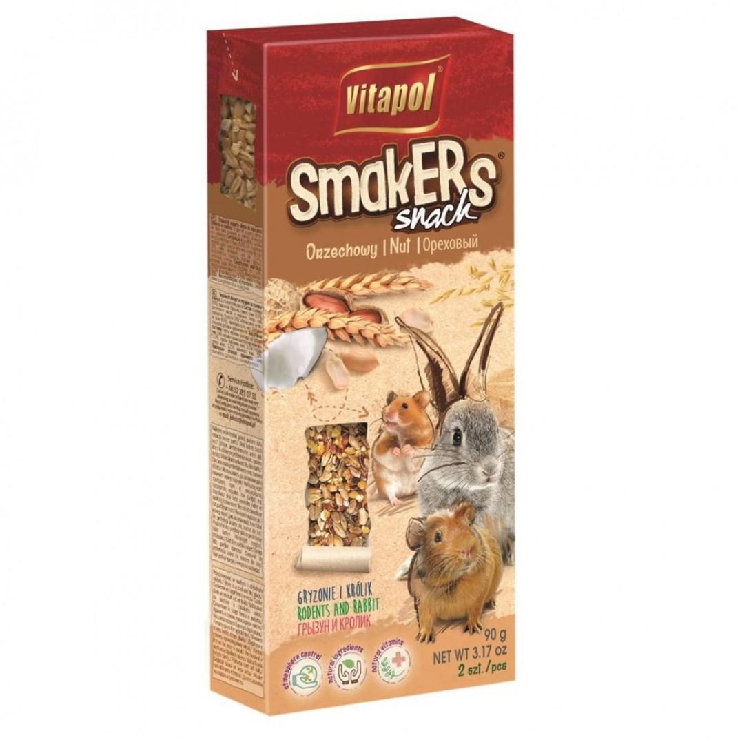 Vitapol smakers, stok voor knaagdieren noten 90 gram