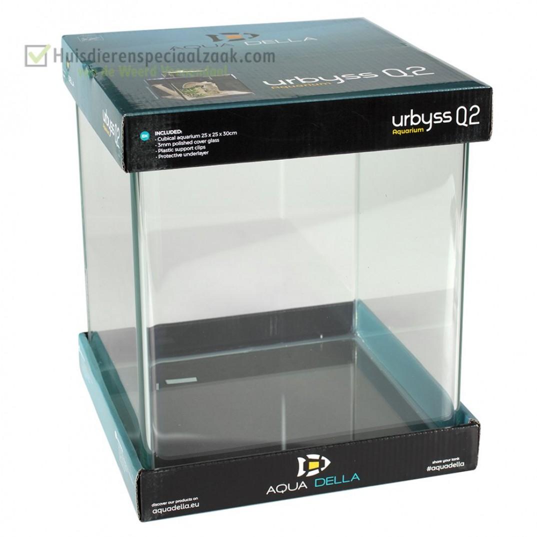 Urbyss Q2 kubisch volglas aquarium