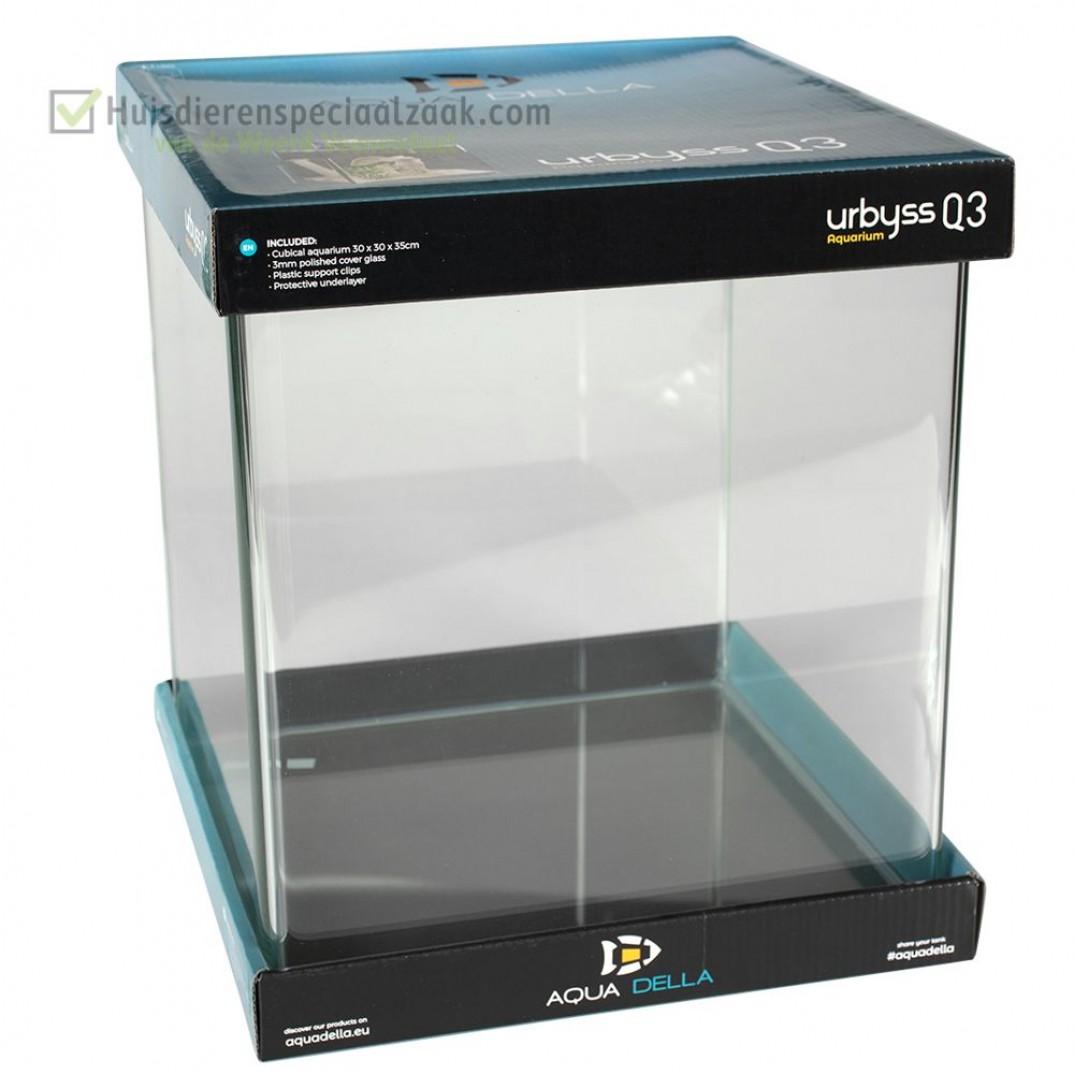 Urbyss Q3 kubisch volglas aquarium