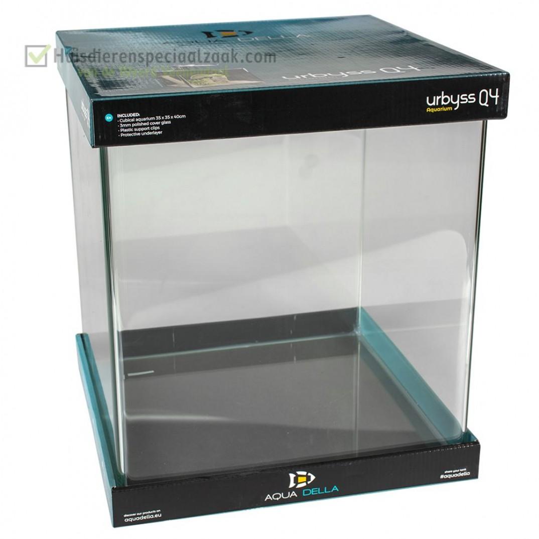 Urbyss Q4 kubisch volglas aquarium