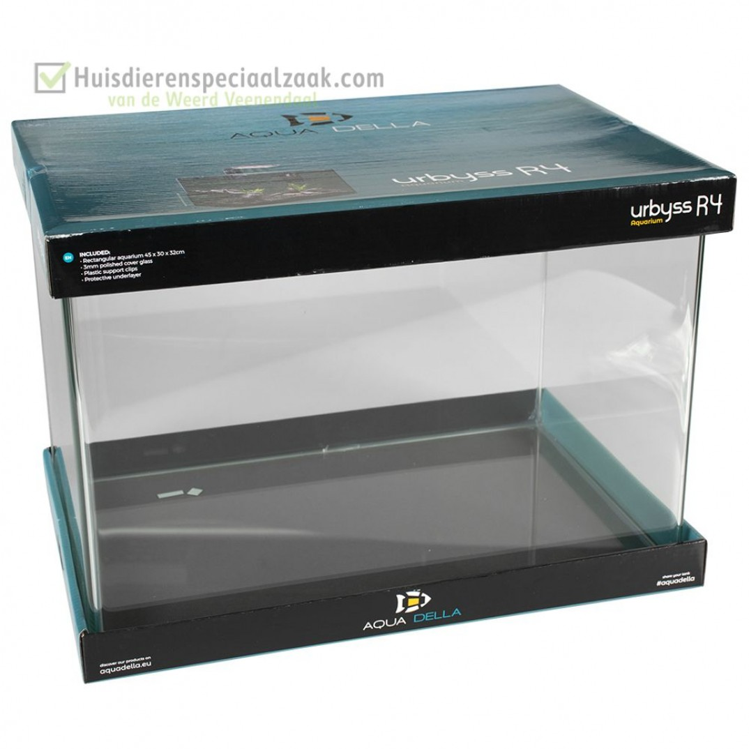 Urbyss R4 Rechthoekig 43 liter volglas aquarium