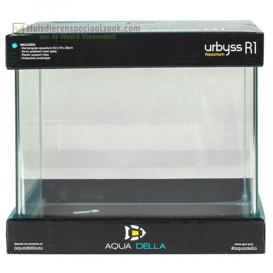 Urbyss R1 Rechthoekig 14 liter volglas aquarium