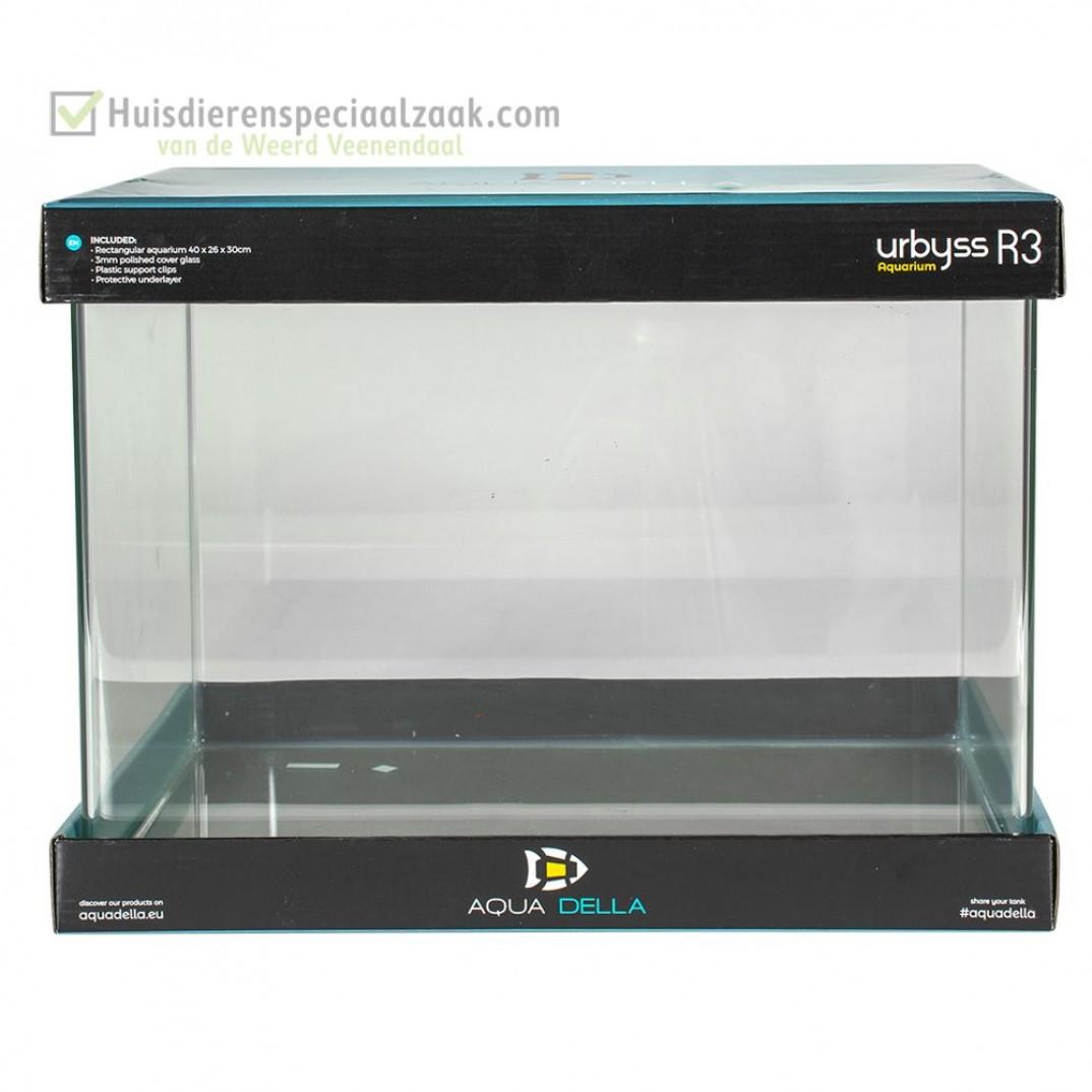 Urbyss R2 Rechthoekig 21 liter volglas aquarium