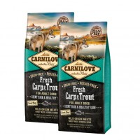 Carnilove fresh carp and trout 24KG 2 x12KG