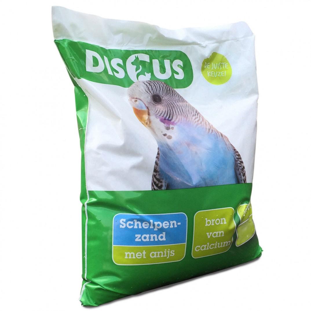DISCUS schelpenzand anijs 20kg
